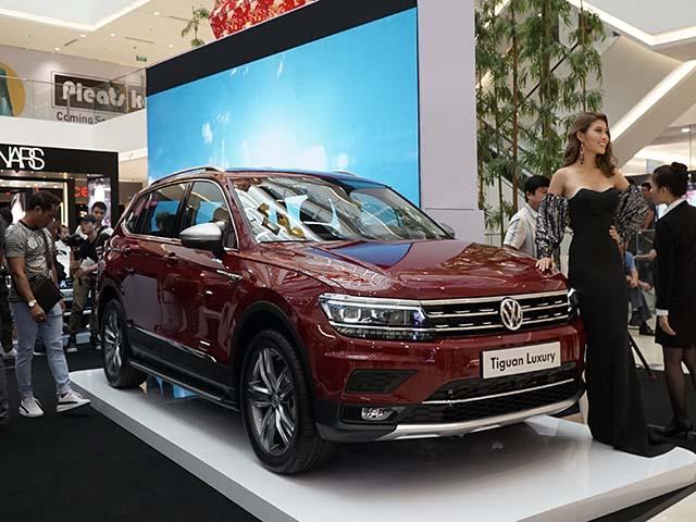 Cận cảnh chiếc SUV 7 chỗ Tiguan Luxury và loạt mẫu xe tại sự kiện Volkswagen's Diversity