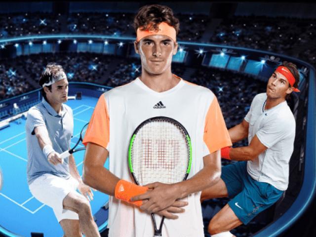 """SAO 20 tuổi có thể soán ngôi Federer - Nadal - Djokovic: Cao 1m93 """"tài đức vẹn toàn"""""""