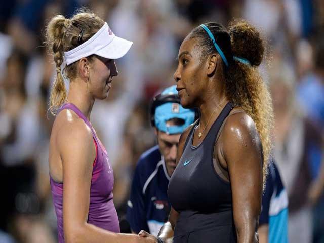 Serena - Alexandrova: 92 phút đôi công, bản lĩnh lên tiếng