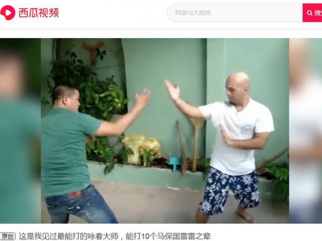 """Báo Trung Quốc bái phục: Flores """"đánh sập"""" 10 võ sư Thái Cực - Ngụy Lôi"""