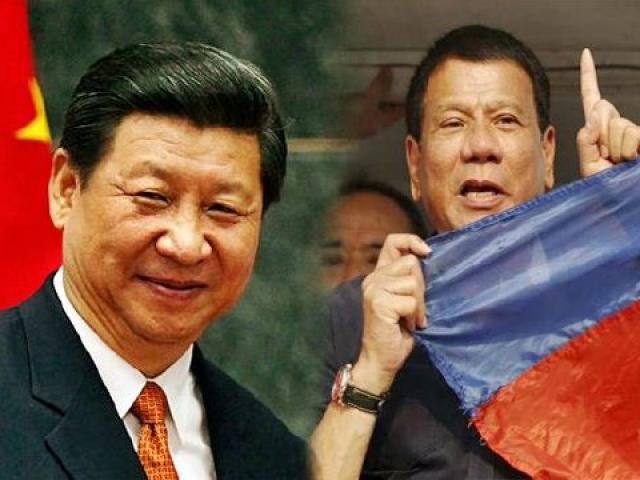 """Với những gì đang diễn ra, Tổng thống Philippines đã không còn """"yêu"""" Trung Quốc?"""