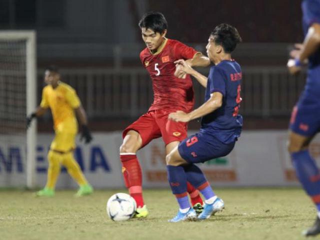 Trực tiếp bóng đá U18 Việt Nam - U18 Thái Lan: Nỗ lực bất thành (Hết giờ)