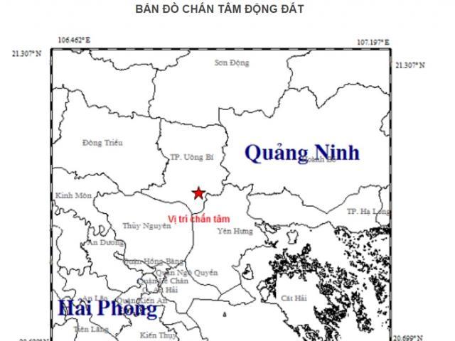 Chuyên gia lý giải trận động đất mạnh 3,2 độ richter ở Quảng Ninh
