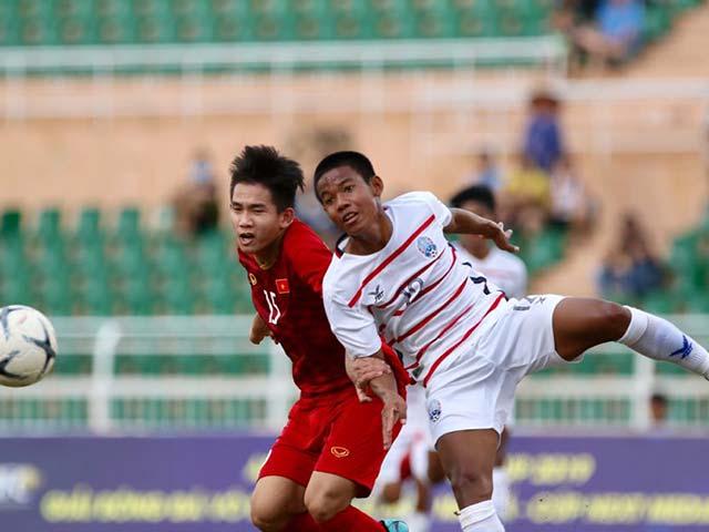 U18 Việt Nam - U18 Campuchia: Nghẹt thở phút bù giờ, sững sờ địa chấn