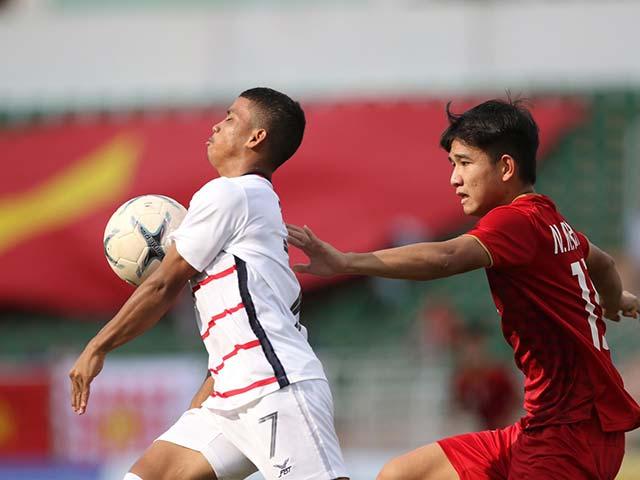 Trực tiếp bóng đá U18 Việt Nam - U18 Campuchia: Cay đắng bàn thua phút 90+5 (Hết giờ)