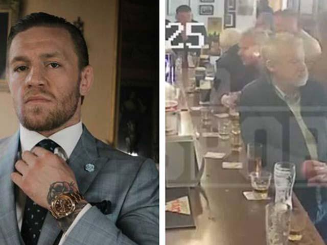 """Sững sờ với """"Gã điên"""" McGregor: Đấm cả cụ già vì mời rượu không uống"""