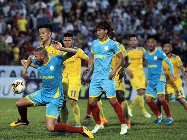 Trực tiếp bóng đá Khánh Hòa - SLNA: Tự tin có điểm trên sân khách