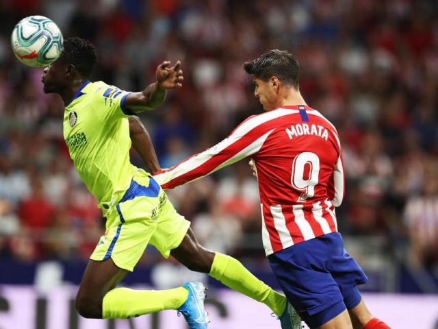 Atletico Madrid - Getafe: 2 thẻ đỏ, penalty và tâm điểm Morata
