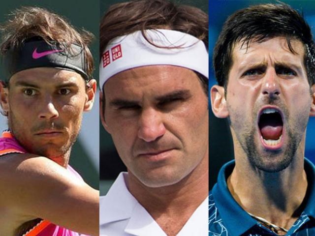 """Bảng xếp hạng tennis 19/8: Federer-Djokovic """"tặng quà"""" Nadal, Medvedev gây loạn"""