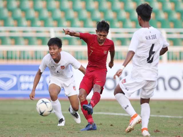 U18 Indonesia - U18 Myanmar: Vỡ vụn 11 phút 5 bàn, Beckham lập cú đúp