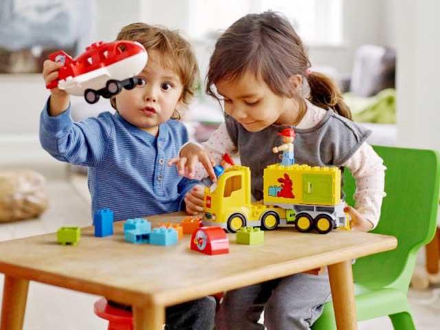 Đây là trò chơi giúp trẻ thông minh, linh hoạt ngay từ bé