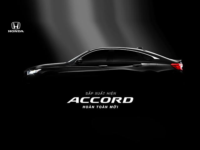 Honda Accord thế hệ thứ 10 chuẩn bị ra mắt tại thị trường Việt Nam