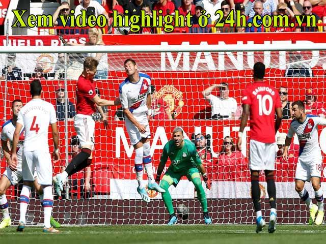 Trực tiếp bóng đá MU - Crystal Palace: Đội khách bất ngờ mở tỉ số (Vòng 3 Ngoại hạng Anh)
