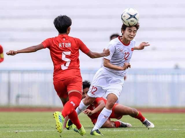 Trực tiếp bóng đá ĐT nữ Việt Nam - ĐT nữ Philippines: Huỳnh Như gỡ hòa cho Việt Nam