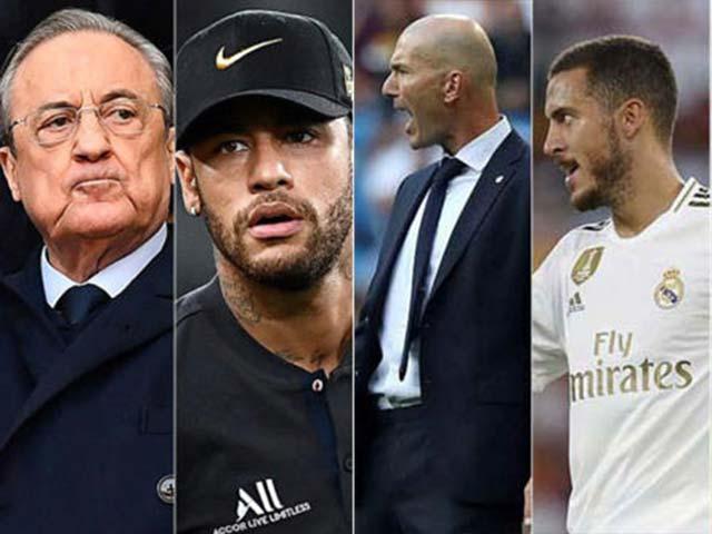 """Real rối bời quyền lực: Zidane lục đục SAO trẻ, """"ông trùm"""" sắp hủy vụ Neymar"""