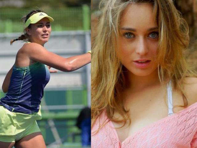 Nữ thần tuyệt đẹp US Open: Chân dài 21 tuổi gương mặt hút hồn