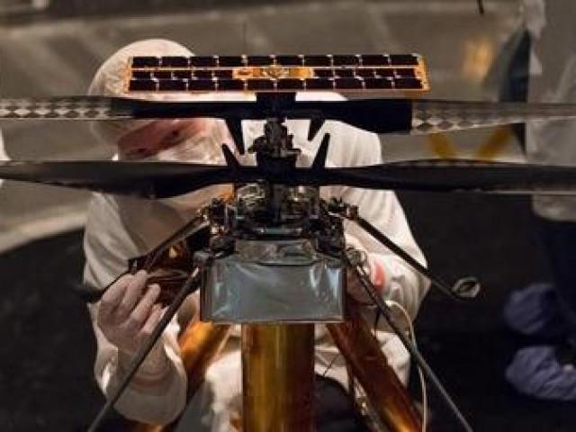 Máy bay trực thăng sắp thực hiện nhiệm vụ bay trên sao Hỏa?