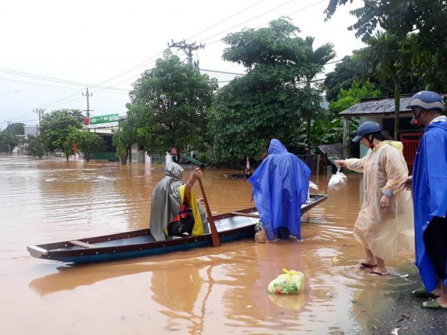 Quảng Bình: Bé trai 2 tuổi đuối nước do mưa lũ