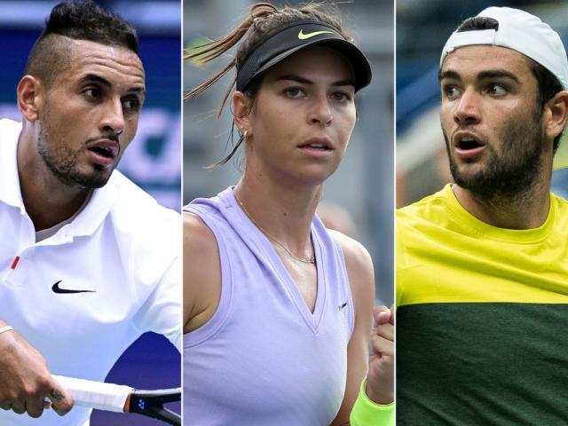 """Cú sốc US Open: """"Trai hư"""" Kyrgios bị """"Khổng lồ"""" 1m96 """"cuỗm"""" mất bạn gái"""