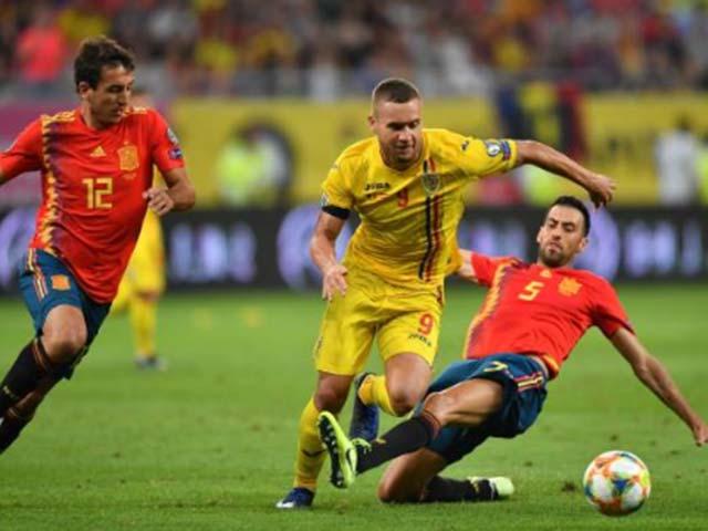 Video highlight trận Romania - Tây Ban Nha: Thẻ đỏ & ngược dòng hụt hiệp 2