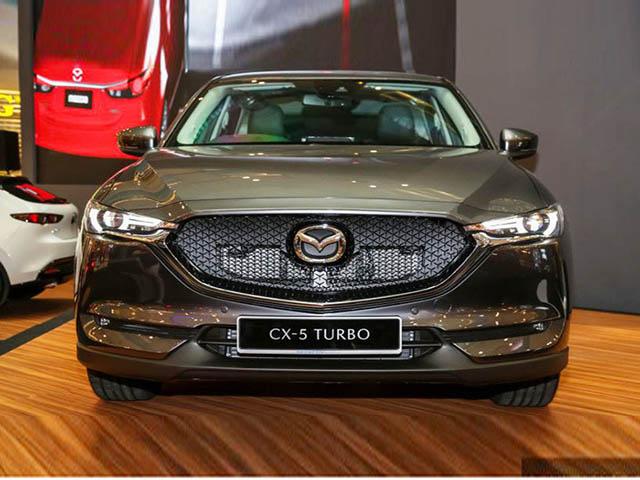 Cận cảnh Mazda CX-5 2.5L Turbo AWD 227 mã lực tại Malaysia