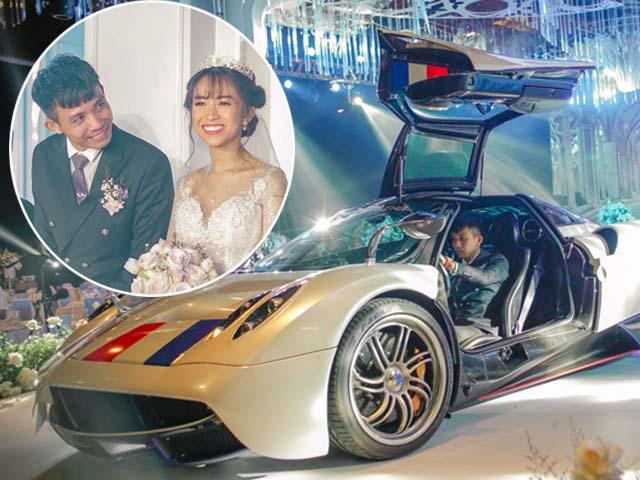Đại gia Minh Nhựa lái siêu xe 80 tỷ đưa 'ái nữ' vào lễ đường, đám cưới toàn nghệ sĩ nổi tiếng