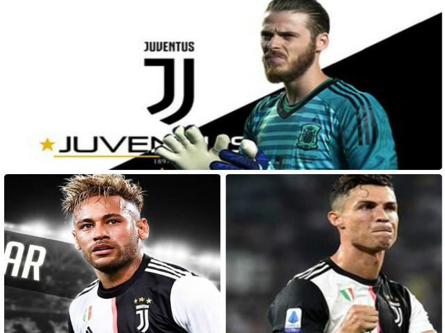 MU nguy to: Juventus ủ mưu cuỗm De Gea miễn phí, cùng Neymar - Ronaldo xưng bá