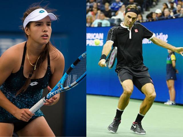 """Mỹ nhân 17 tuổi sung sướng vì vô địch US Open: Làm liều """"tỏ tình"""" Federer"""