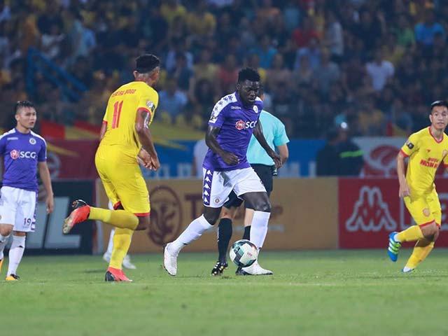 Trực tiếp bóng đá Hà Nội FC - Nam Định: Omar nâng tỷ số lên 5-1