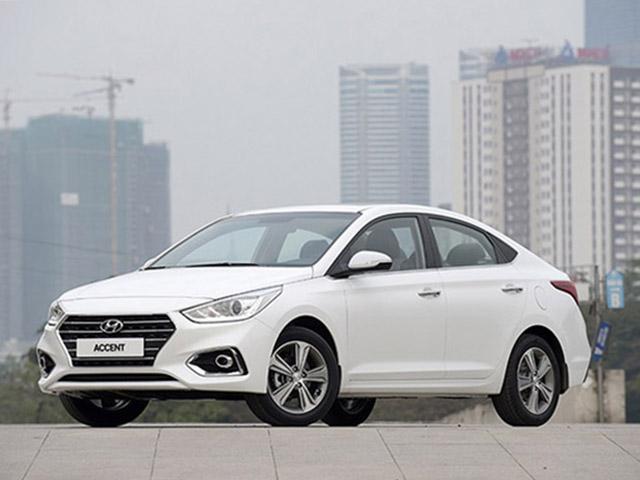 """Accent tiếp tục giữ """"ngôi vương"""" của Hyundai tại Việt Nam trong tháng 8/2019"""