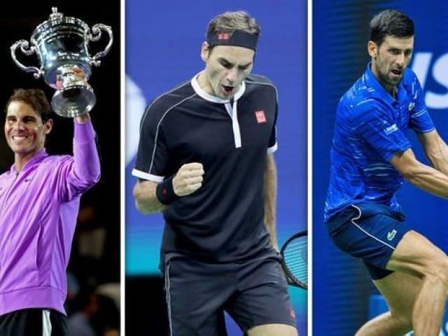 """1 ngày 2 """"địa chấn"""" tennis: Nadal-Djokovic """"xé toang"""" lịch sử, Federer ôm hận"""