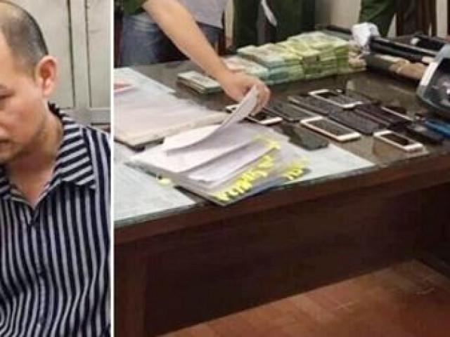 Cán bộ thuỷ nông cầm đầu ổ nhóm tín dụng đen lớn nhất huyện Thạch Thất