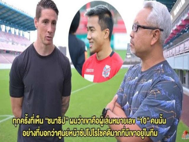 """Messi Thái """"im thin thít"""" vòng loại World Cup: Có xứng được Torres khen ngợi?"""