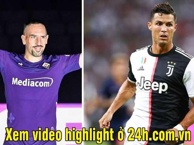 """Vòng 3 Serie A, chờ Ribery """"phục hận"""" Ronaldo: Xem video highlight nhanh nhất trên 24h.com.vn"""