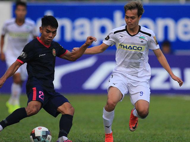 Trực tiếp bóng đá Sài Gòn - HAGL: Cơ hội liên tiếp