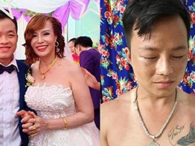 """Cô dâu 62 tuổi phản ứng bất ngờ khi dân mạng chỉ trích """"dùng chồng như phá"""""""