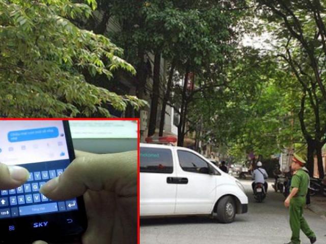 Tin nhắn cuối cùng gửi bạn cùng phòng của nghi phạm giết 2 nữ sinh ở Hà Nội