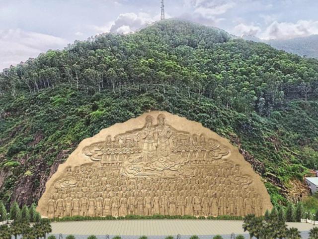 Cận cảnh vị trí Bình Định dự kiến tạc bức phù điêu 'khủng' 86 tỷ gây tranh cãi