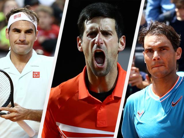 """Federer, Nadal, Djokovic bị """"điểm huyệt"""": Lộ khắc tinh & thói quen lạ"""