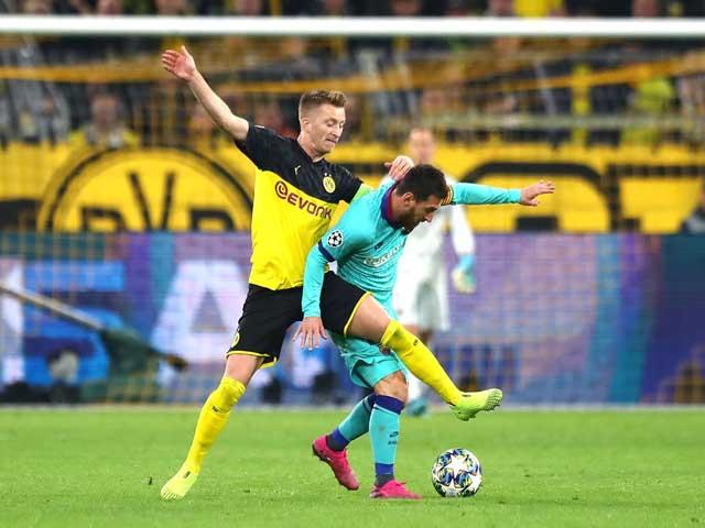"""Kết quả bóng đá cúp C1, Dortmund - Barcelona: """"Sát thủ"""" vô duyên, Messi vất vả"""