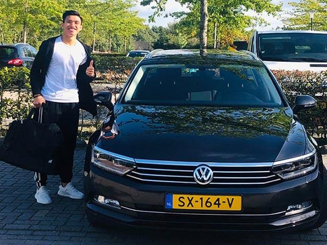 Văn Hậu đã đến Hà Lan chờ ra sân: Bất ngờ nhận nhà đẹp & xe sang tiền tỷ