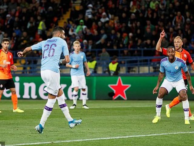 """Shakhtar Donetsk - Man City: """"Lốc xanh"""" cuốn phăng chủ nhà"""