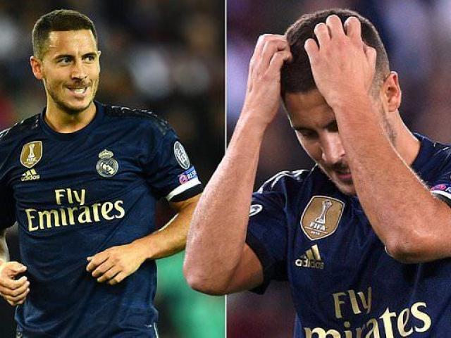 """Hazard - Real ra mắt thảm họa cúp C1: Huyền thoại MU """"xát muối nỗi đau"""""""