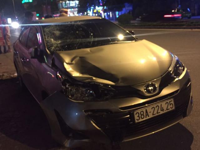 Cán bộ UBKT tỉnh Hà Tĩnh uống rượu lái xe tông 2 thanh niên nguy kịch
