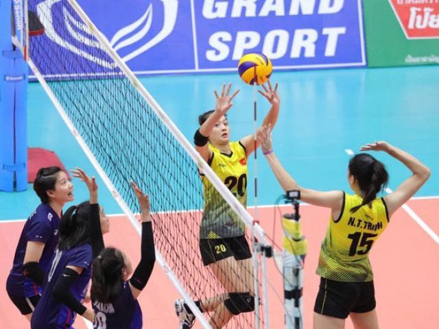 Trực tiếp bóng chuyền nữ Thái Lan đấu Việt Nam: Đại chiến ở xứ Chùa Vàng