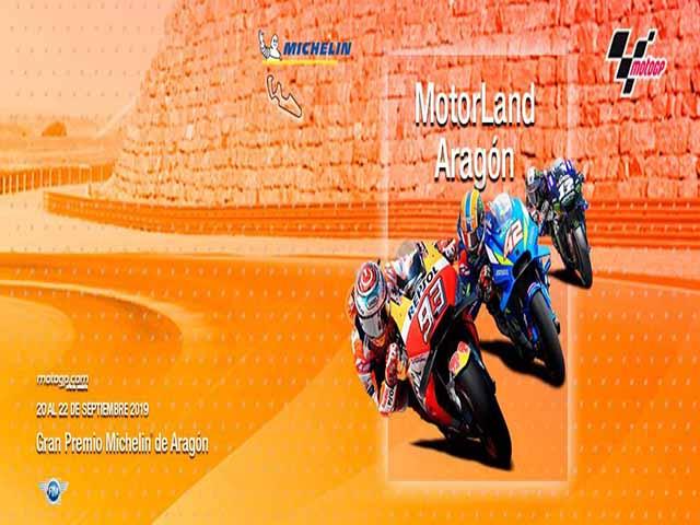 """Đua xe MotoGP, Aragon GP: Siêu tốc 346 km/h, """"chiến mã mở hội"""" ở độ cao 300m"""