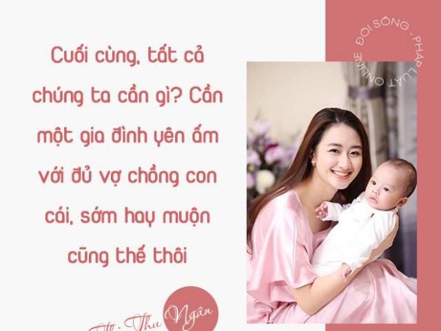 """Hoa hậu Thu Ngân và gia thế người chồng quyền lực """"may mắn nhất làng bóng đá Việt Nam"""""""