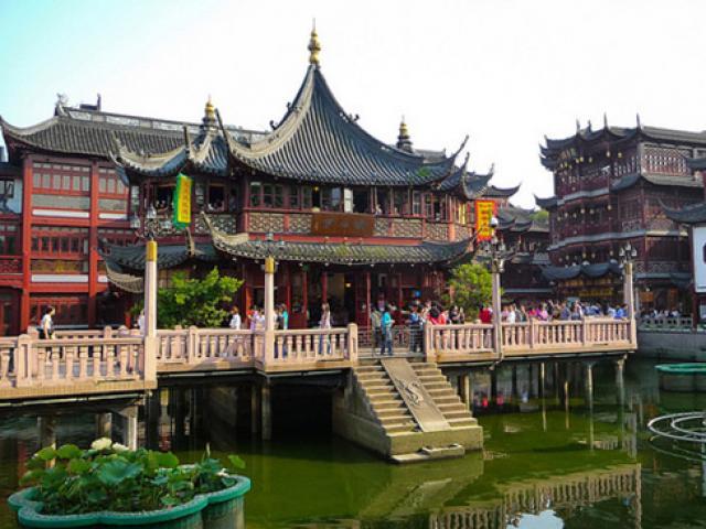 Du khách kéo đến Trung Quốc để chiêm ngưỡng những điều tuyệt diệu như thế này