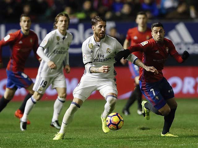 Trực tiếp bóng đá Real Madrid - Osasuna: Chiến thắng dễ dàng (Hết giờ)