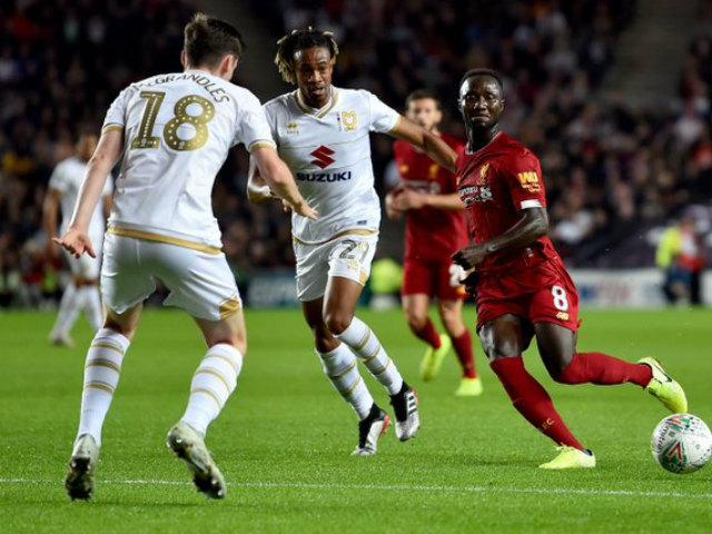 Video highlight trận MK Dons - Liverpool: Sai lầm tai hại, SAO 17 tuổi ấn định
